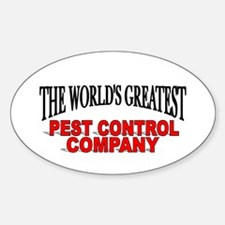 """The World's Greatest Pest Control Company"" Sticke"