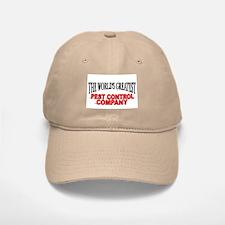 """The World's Greatest Pest Control Company"" Baseball Baseball Cap"
