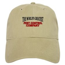 """The World's Greatest Pest Control Company"" Baseball Cap"