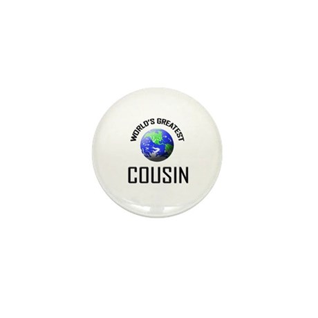 World's Greatest COUSIN Mini Button (10 pack)
