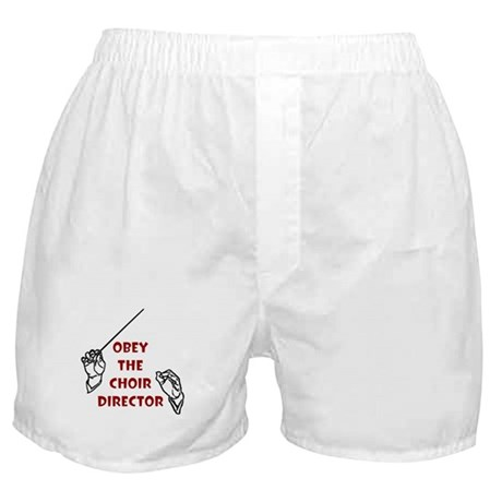 Obey the Choir Director Boxer Shorts