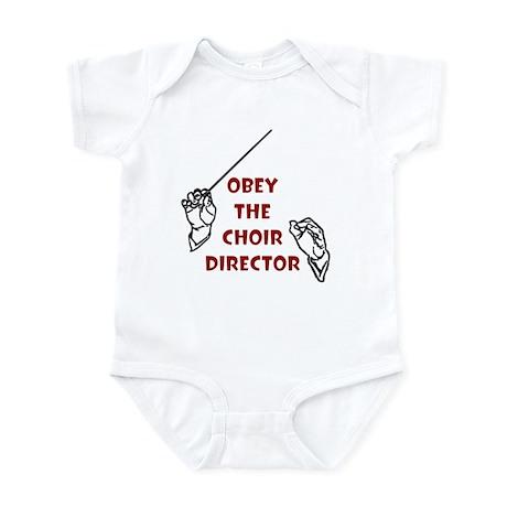 Obey the Choir Director Infant Bodysuit