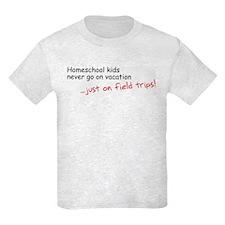 kidsVacationNoArt T-Shirt