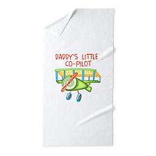 DADDYS CO-PILOT Beach Towel