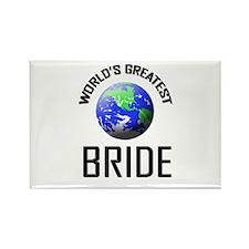 World's Greatest BRIDE Rectangle Magnet