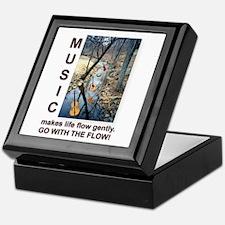 Violin Banjo Mando Fiddle Bass Keepsake Box