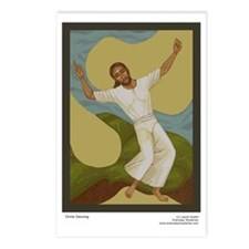 Christ Dancing postcards (Pkg of 8)