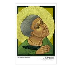 St. Hildegard of Bingen Postcards (Pkg of 8)
