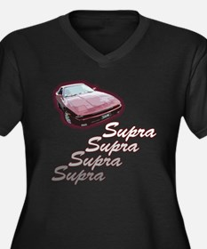 Older supra Women's Plus Size V-Neck Dark T-Shirt