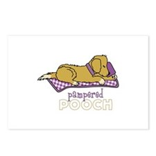 PAMPERED POOCH Postcards (Package of 8)