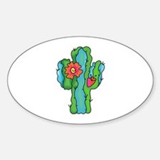 FLOWERING CACTUS Decal