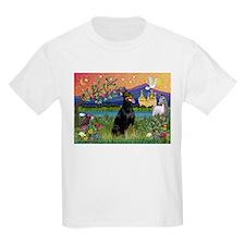 Doberman Fantasyland T-Shirt