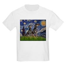 Starry Night & Dobie Pair T-Shirt