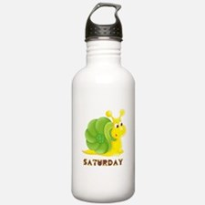 Saturday Snail Water Bottle