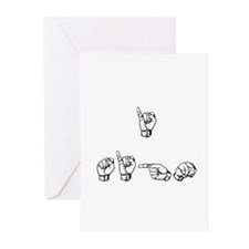 I Sign Greeting Cards (Pk of 10)