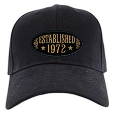 Established 1972 Baseball Hat