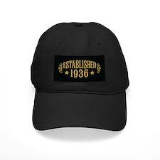 Established 1936 Baseball Hat