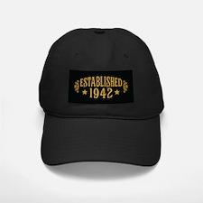 Established 1942 Baseball Hat