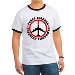 Peace Through Superior Firepower Ringer T