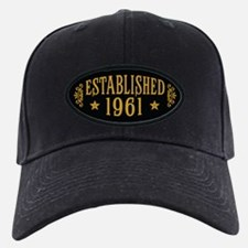 Established 1961 Baseball Hat