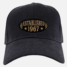 Established 1967 Baseball Hat