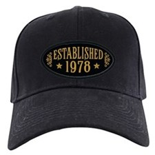 Established 1978 Baseball Hat