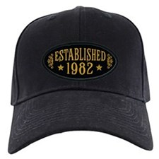 Established 1982 Baseball Hat