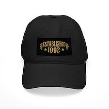 Established 1992 Baseball Hat