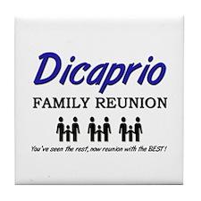 Dicaprio Family Reunion Tile Coaster