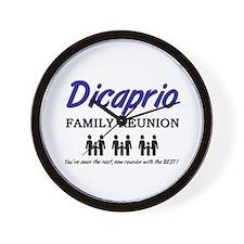 Dicaprio Family Reunion Wall Clock