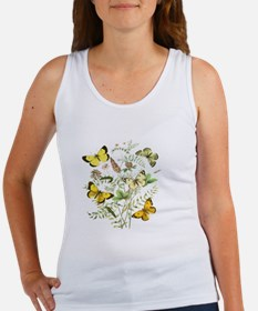 French Butterflies Women's Tank Top