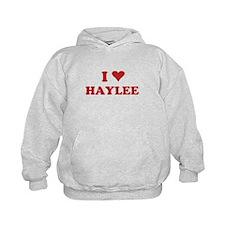 I LOVE HAYLEE Hoodie