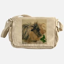 Chippy The Peruvian Long Haired Guin Messenger Bag