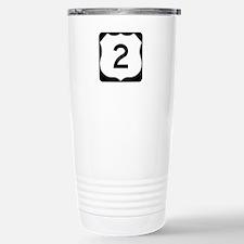 US Route 2 Travel Mug