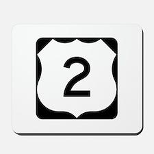 US Route 2 Mousepad