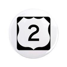 "US Route 2 3.5"" Button"