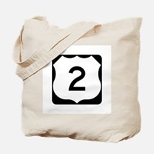 US Route 2 Tote Bag