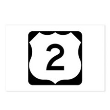 US Route 2 Postcards (Package of 8)