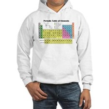 Periodic Table of Elements Jumper Hoodie
