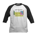 Periodic table of elements Baseball Jersey