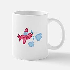 AIRPLANE IN CLOUDS Mugs