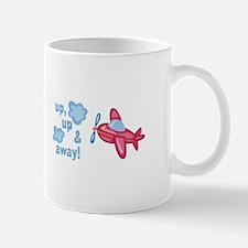 UP AND AWAY! Mugs