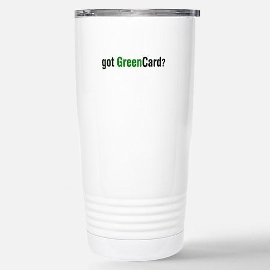 got Green Card Mugs
