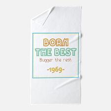 Born the Best 1969 Beach Towel