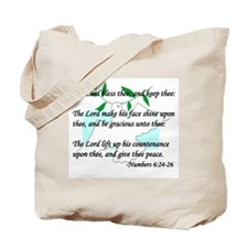 """Lord Bless Thee"" Tote Bag"