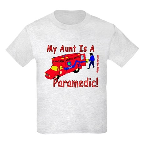Paramedic Aunt - Kids Light T-Shirt