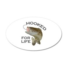HOOKED FOR LIFE Wall Decal