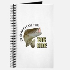 IN SEARCH OF BIG ONE Journal