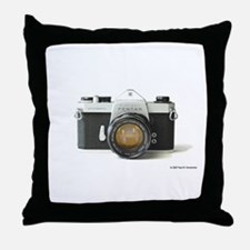 Spotmatic Throw Pillow