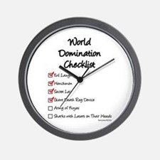 Domination Wall Clock